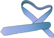 Как завязать галстук - Узел Онассис 3