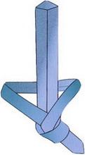 Как завязать галстук - Узел Онассис 4